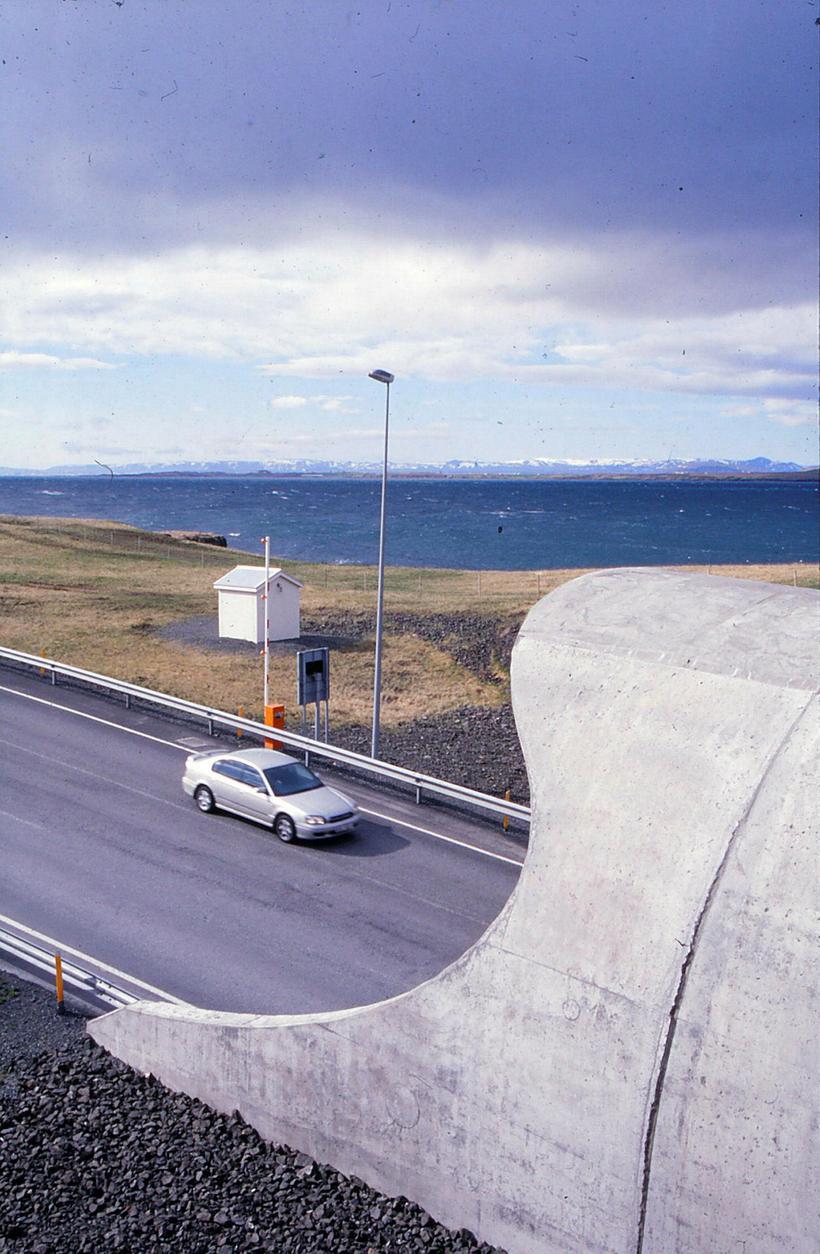 Ætlun hönnuðanna var að op ganganna líktist að forminu til ...
