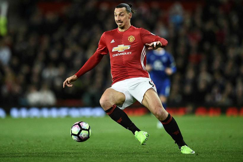 3888157b Snýr Zlatan aftur á Old Trafford? Zlatan Ibrahimovic.