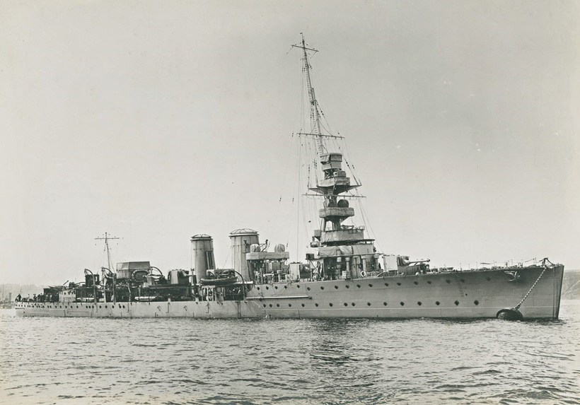 HMS Ca­lyp­so.