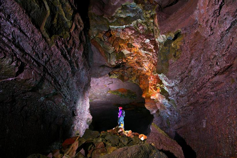 Víðgelmir is a lava cave which was formed just over ...