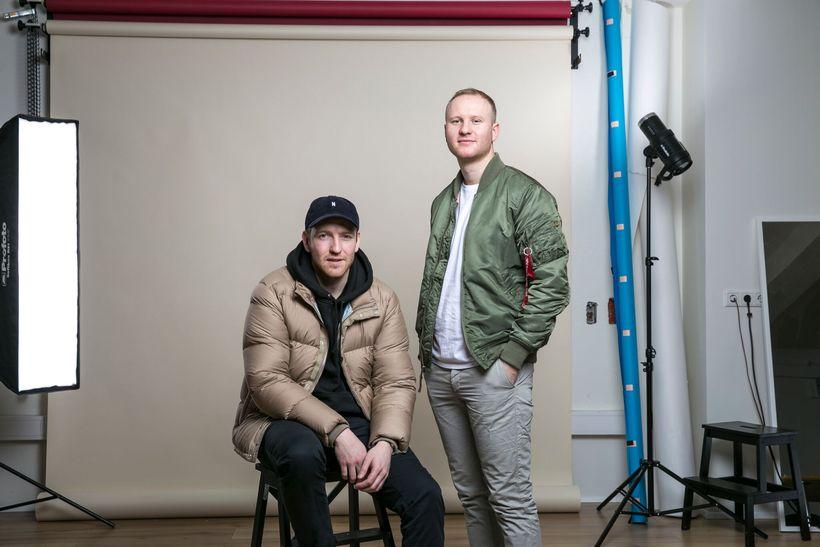 Sindri Snær Jensson and Jón Davíð Davíðsson, owneres of hip ...
