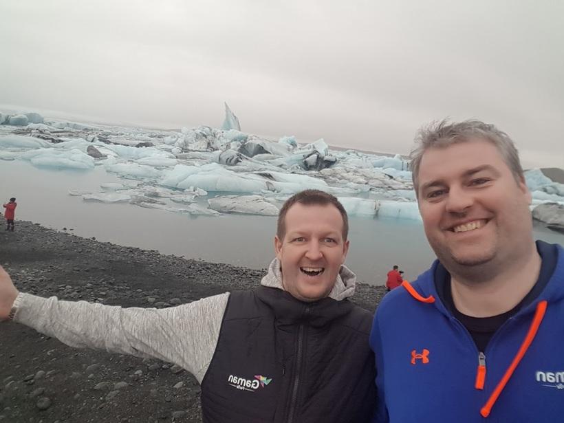 Þór Bæring og Bragi Hinrik reka nú ferðaskrifstofuna Gaman ferðir.