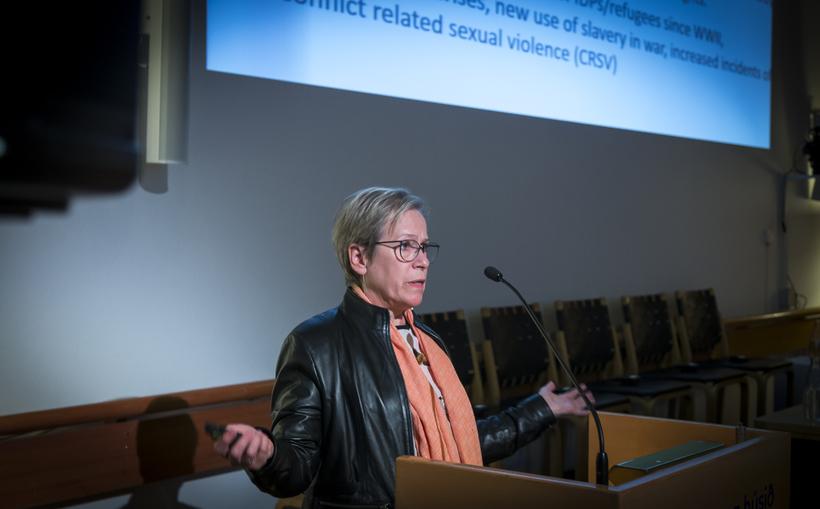 Ingibjörg Sólrún Gísladóttir, umdæmisstjóri UN Women og fv. utanríkisráðherra.
