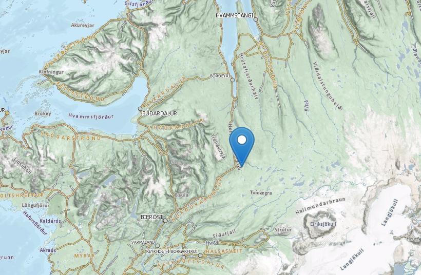 Holtavörðuheiði lokaðist í gær sökum óveðurs.