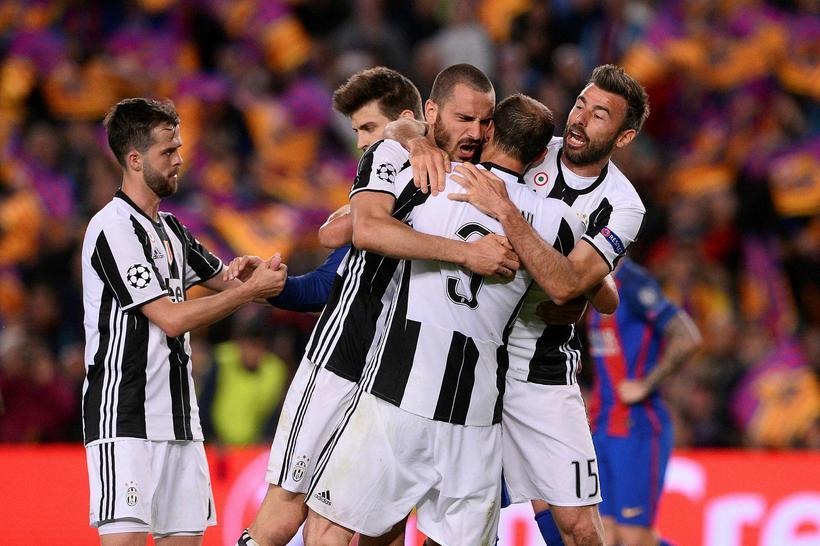 Ítalíumeistarar Juventus eru í undanúrslitum Meistaradeildarinnar.