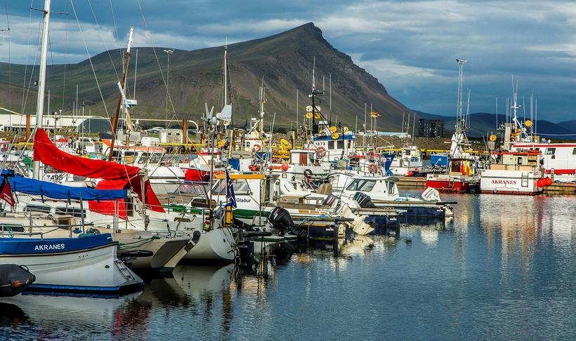Akranes is a small harbour town north of Reykjavik.
