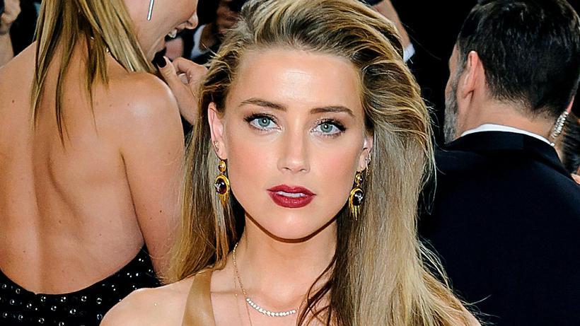 Amber Heard var sú þriðja.