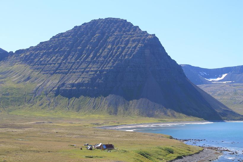 Hlöðuvík at Hornstrandir