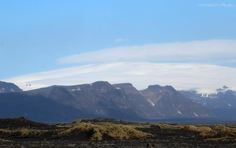 Jarðskjálftahrina hófst norðarlega í Kötluöskjunni í nótt.