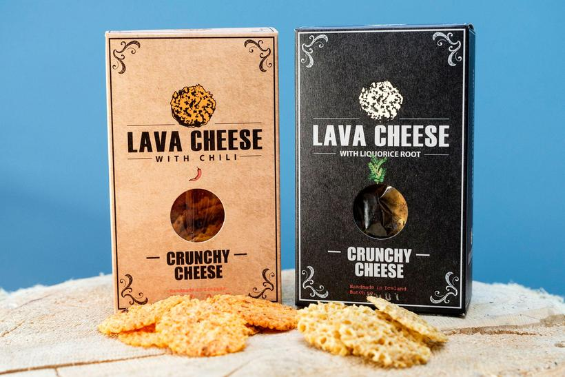 Paca cheese is a crunchy snack made from Icelandic cheddar.