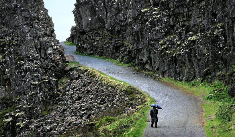 Almannagjá á Þingvöllum