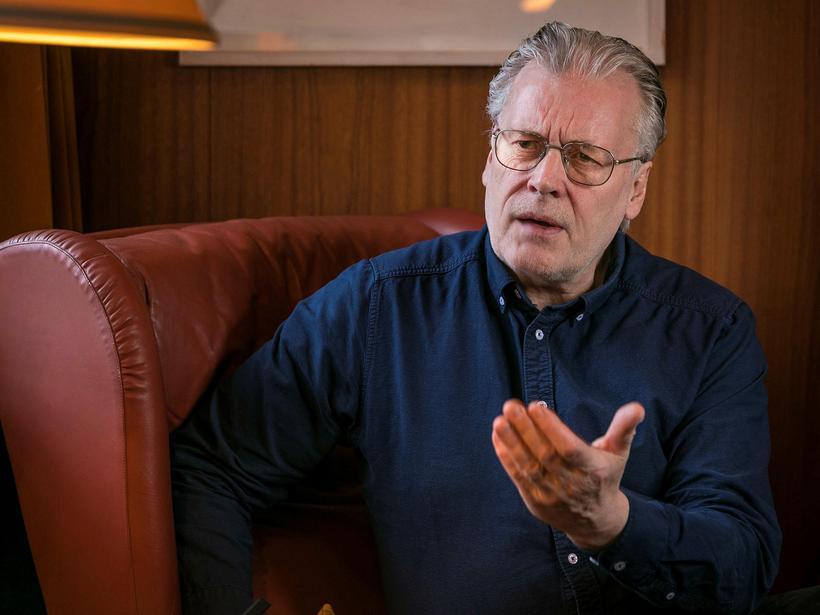 Ögmundur Jónasson fyrrverandi ráðherra VG.