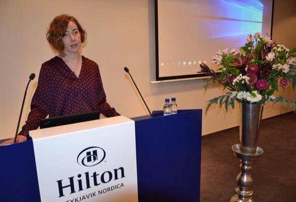 Dr. Birna Baldursdóttir lýðheilsufræðingur og aðjúnkt.