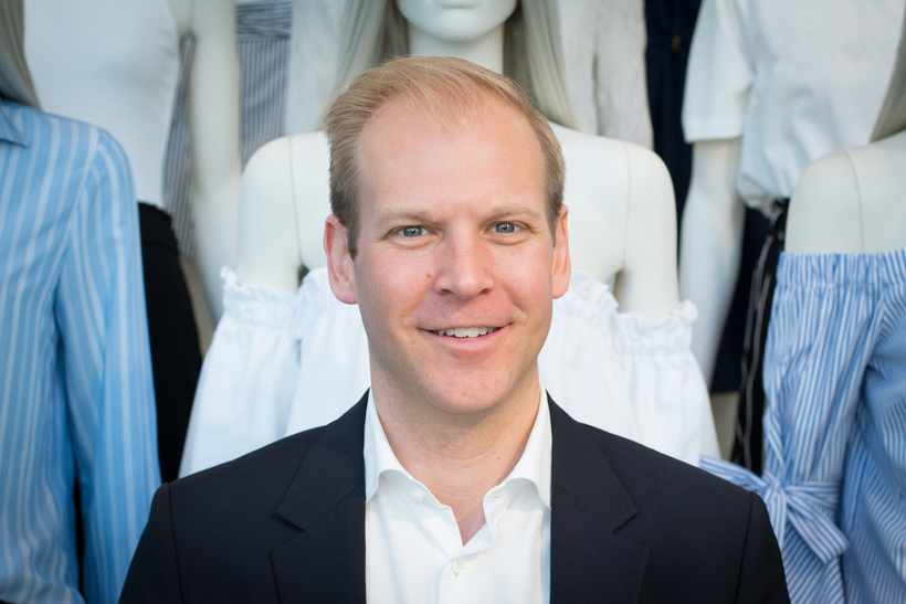 Filip Ekvall, managing director of H&M in Iceland and Norway.