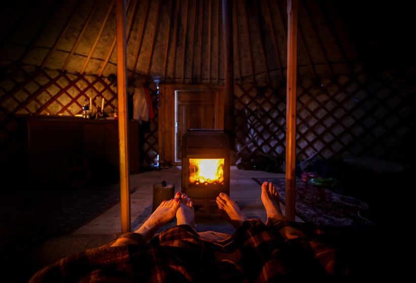Sleeping in a Mongolian Yurt could possibly be the most ...