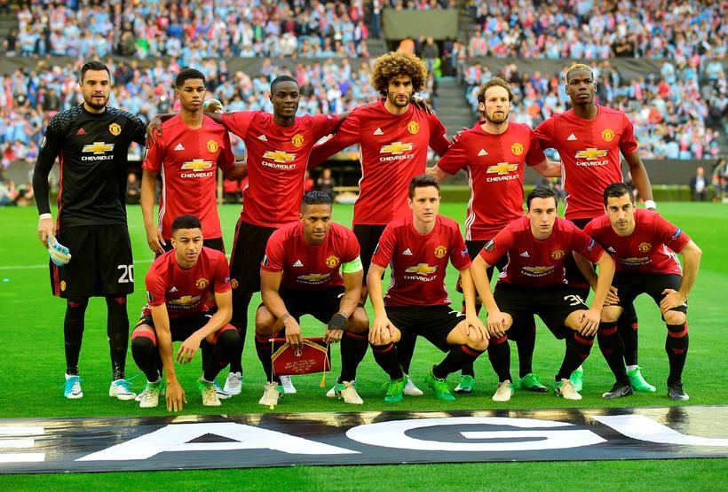 9c11e270 Byrjunarlið Manchester United í leiknum gegn Celta Vigo í síðustu .