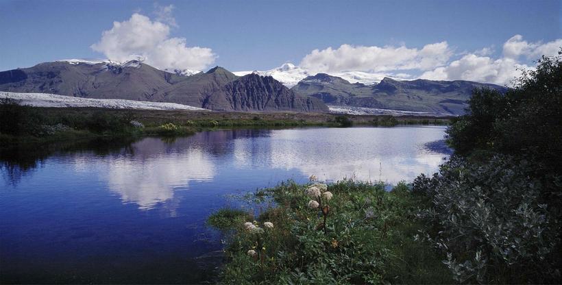 Skaftafell nature reserve.