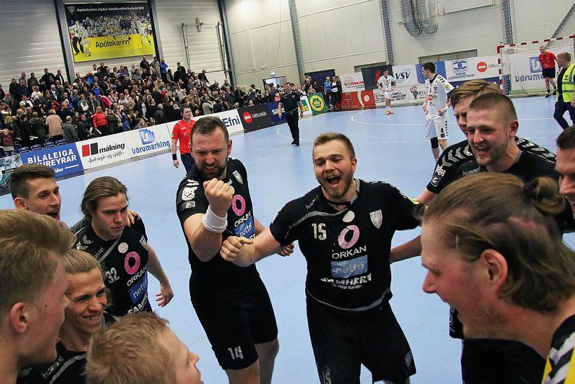 Sverre Jakobsson, Friðrik Svavarsson og félagar hjá Akureyri á góðri ...