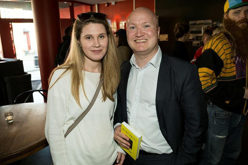 Fanney Birna Jónsdóttir og Helgi Þór Þorsteinsson.
