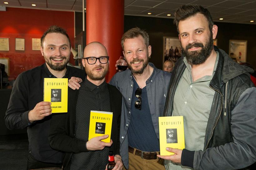 Brigir Ísleifur, Þorbjörn, Gunnar Hansson og Ragnar Hansson.