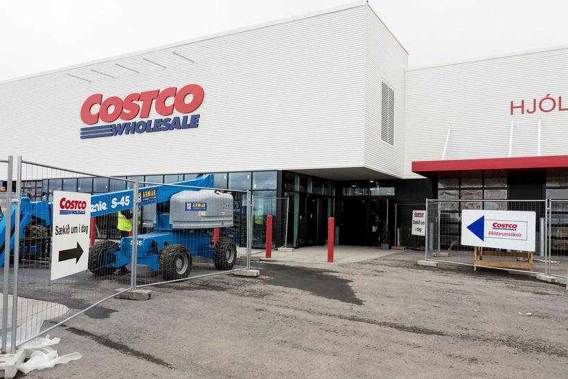 Costco is located in Garðabær, just outside Reykjavik.