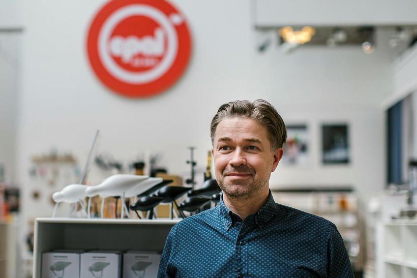 Kjartan Páll Eyjólfsson framkvæmdastjóri Epal.