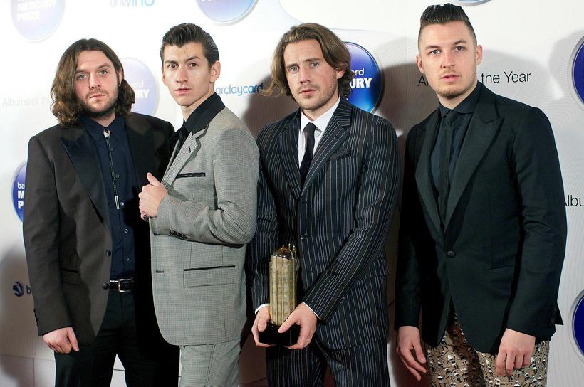 Arctic Monkeys með Mercury-verðlaun.