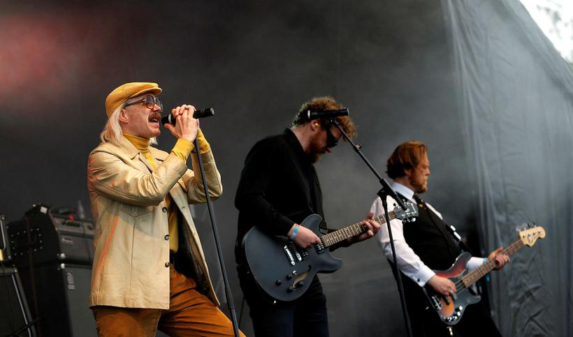 HAM on stage at Secret Solstice music festival. Iceland's minister ...