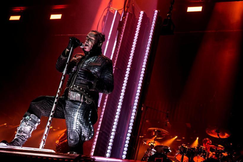 Till Lindemann singer of Rammstein