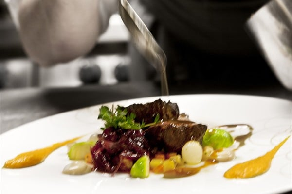 The chefs at Lava Restaurant make modern food with Icelandic ...