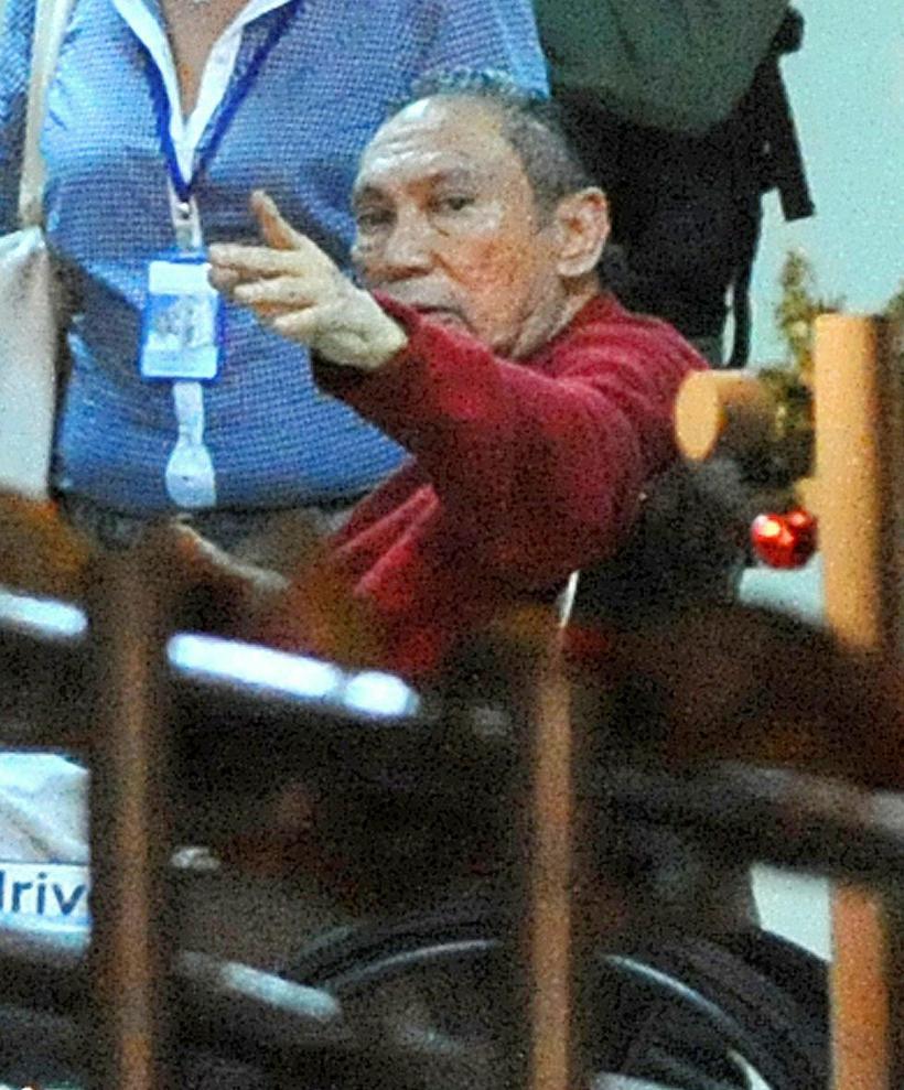 Manuel Noriega árið 2011.