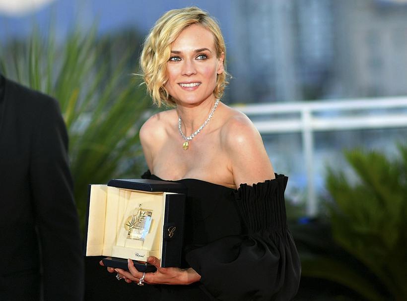 Diane Kruger er meðal þeirra stjarna sem Mark Townsend aðstoðar.