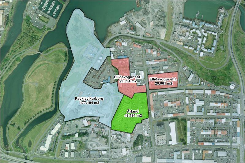 Svæðið sem samkomulagið nær til er 273.000 fermetrar og er ...