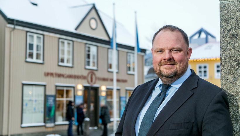 Einar Bárðarson er þakklátur fyrir hjálpina.