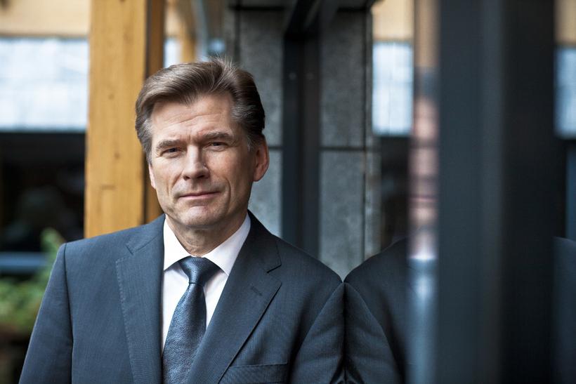 Arnór Sighvatsson aðstoðarseðlabankastjóri.