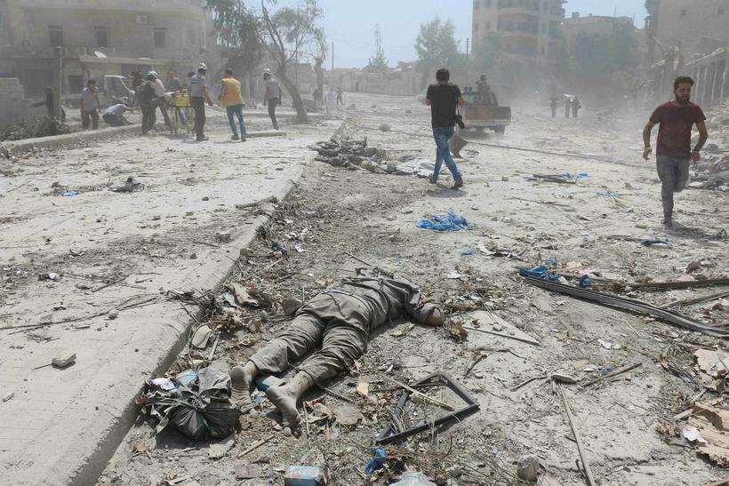 Venjulegur dagur í Aleppo
