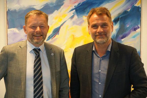 Þorsteinn Víglundsson og Árni Páll Árnason.