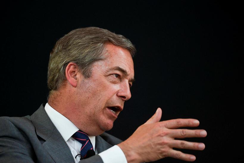 Nigel Farage, fyrrverandi leiðtogi Breska sjálfstæðisflokksins.