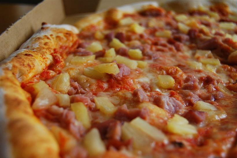 Skiptar skoðanir eru á Hawain pizzu. Sumir elska hana, aðrir ...