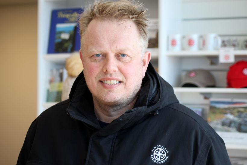 Einar Á. Sæmundssen hefur gegnt stöðu þjóðgarðsvarðar síðasta árið.