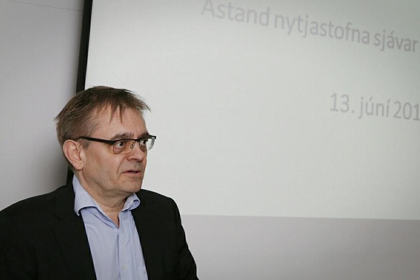 Sigurður Guðjónsson, forstjóri Hafró.