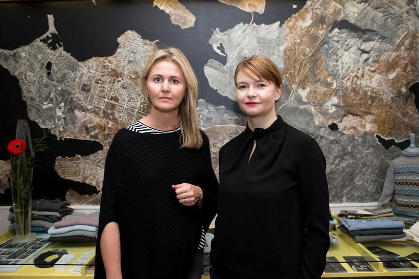 Gréta Hlöðversdóttir og Guðrún Ragna Sigurjónsdóttir eigendur As We Grow.