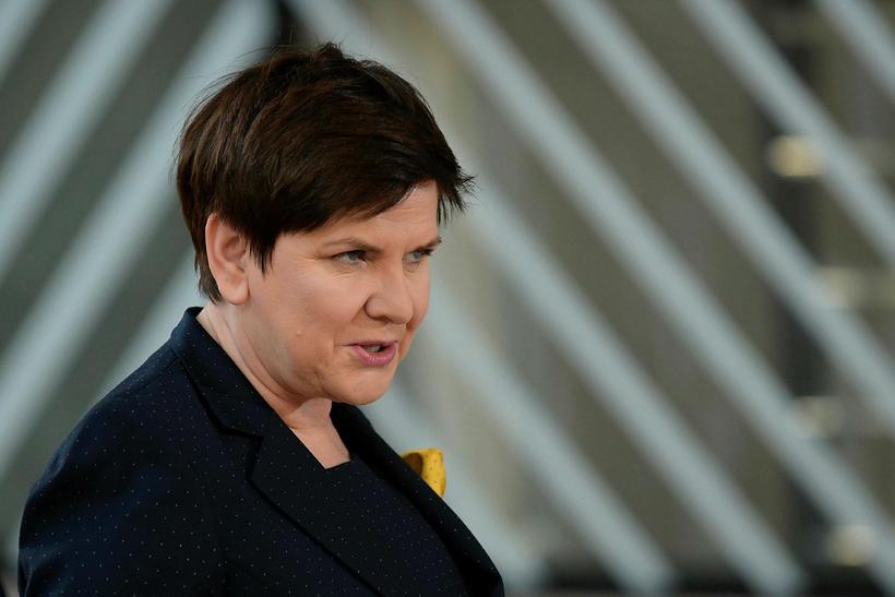 Beata Szydlo, forsætisráðherra Póllands.