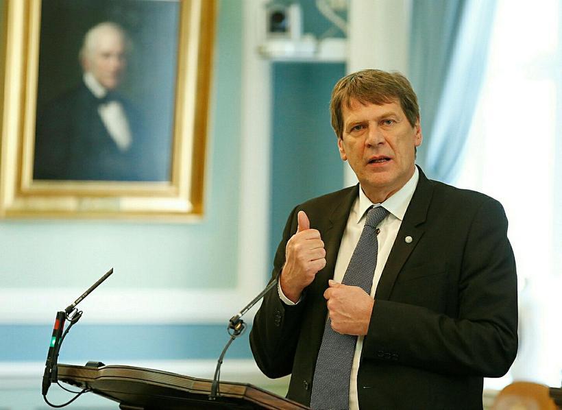 Brynjar Níelsson er ekki lengur formaður stjórnskipunar- og eftirlitsnefndar.