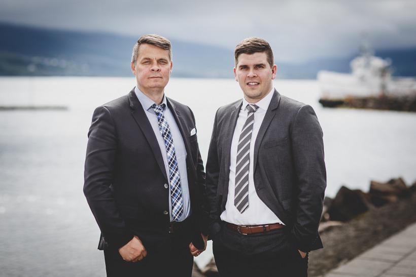 Hjörvar og Sigurður.