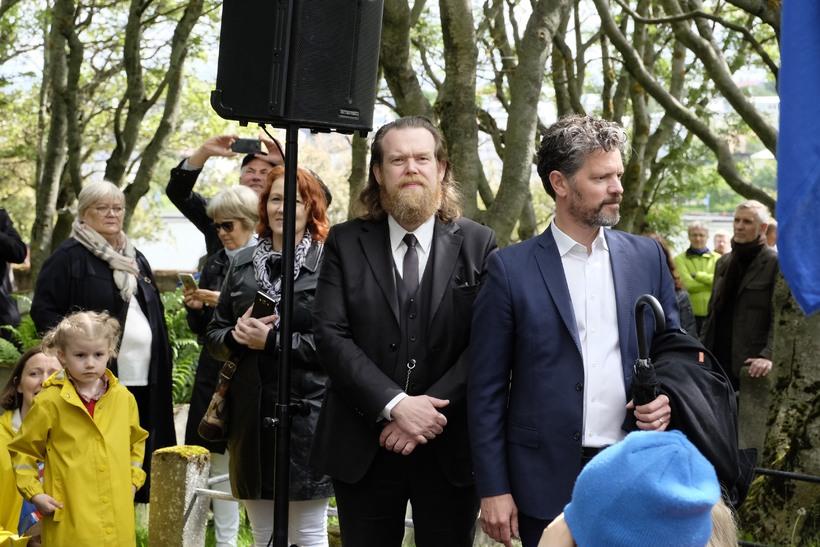 S. Björn Blöndal, formaður borgarráðs og Dagur B. Eggertsson, borgarstjóri.