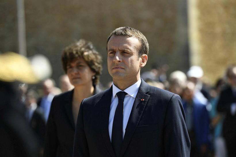Emmanuel Macron, forseti Frakklands.