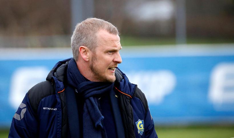 Óli Stefán Flóventsson, þjálfari Grindvíkinga.