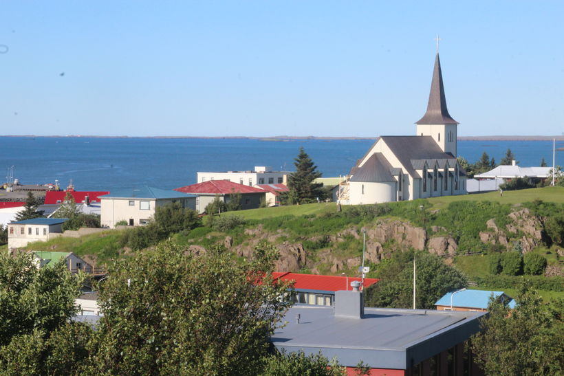 Borgarnes is a town in Borgarfjörður, West Iceland.
