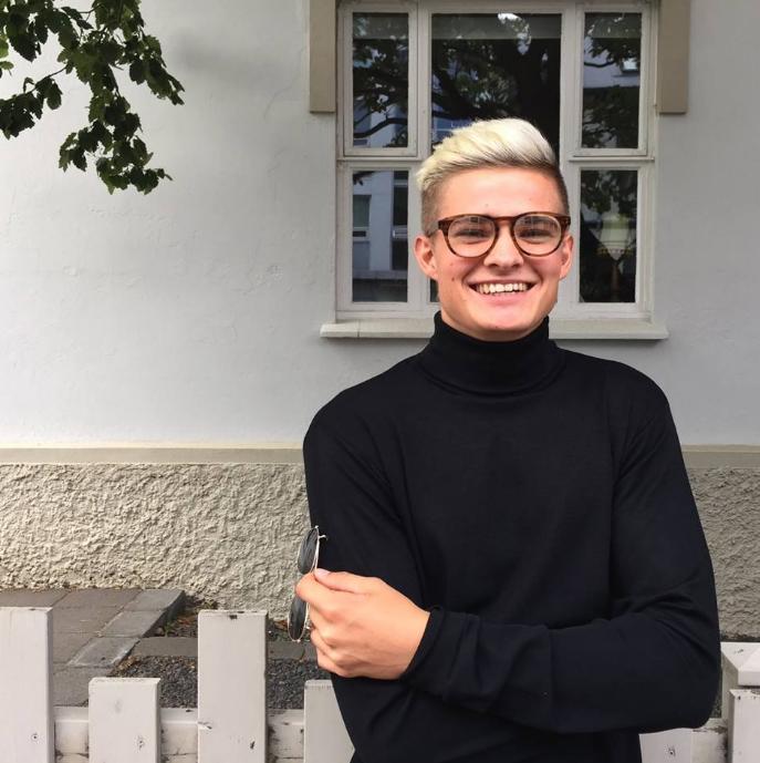 Snorri Björnsson ljósmyndari og Snapchatstjarna